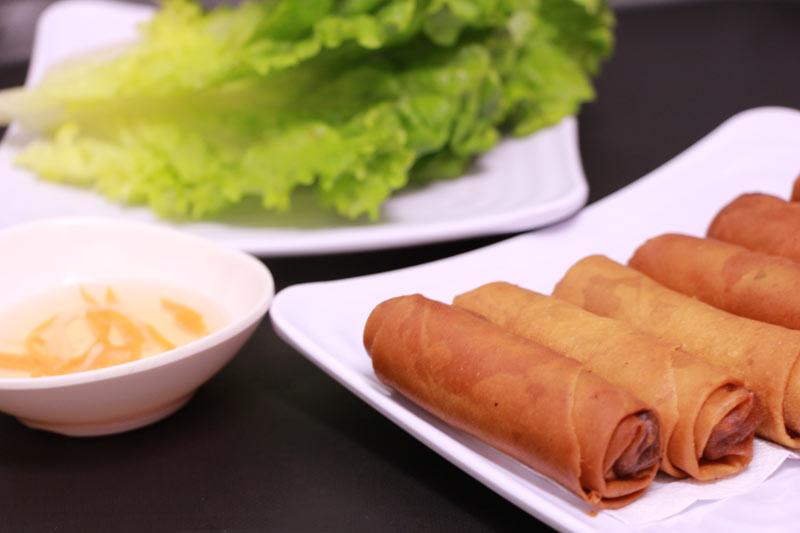 Vietnamese veggie egg rolls (6)
