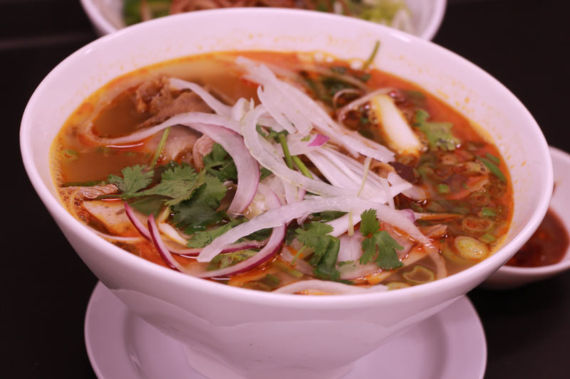 D1. Chef's Spicy Beef Noodle Soup