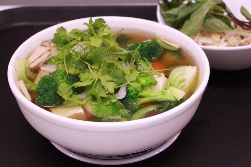 Chef's Veggie noodle soup