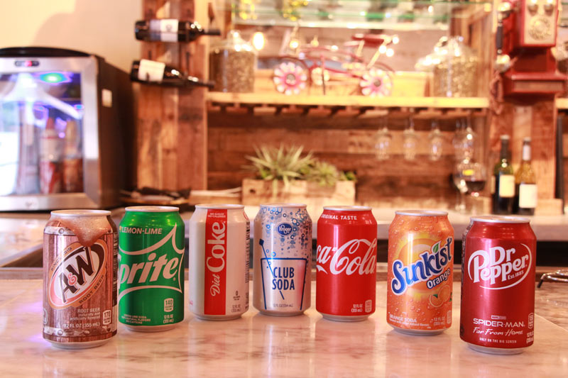 Pick your soda!