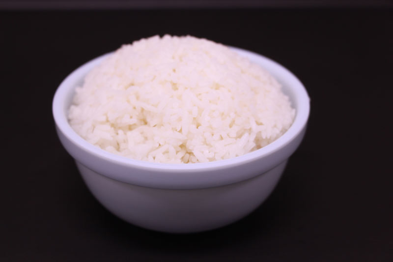 A bowl of steam rice